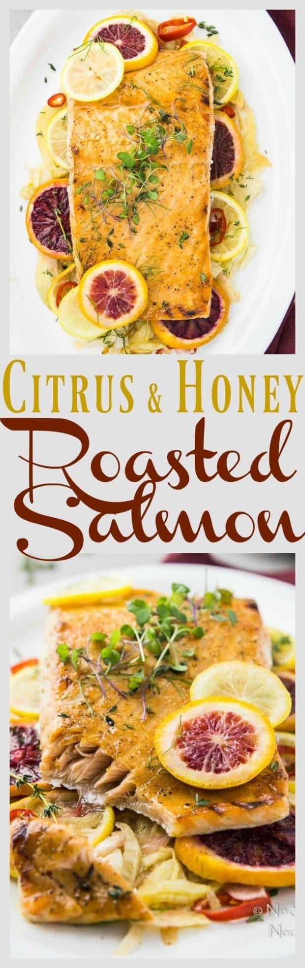 Citrus & Honey Roasted Salmon-long pin2