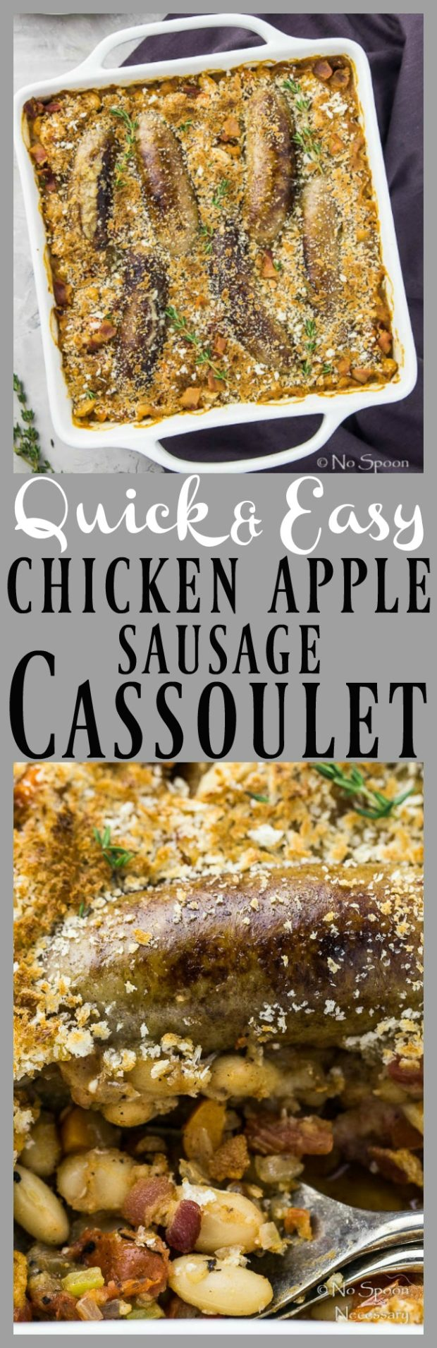 Chicken Apple Sausage Quick Cassoulet