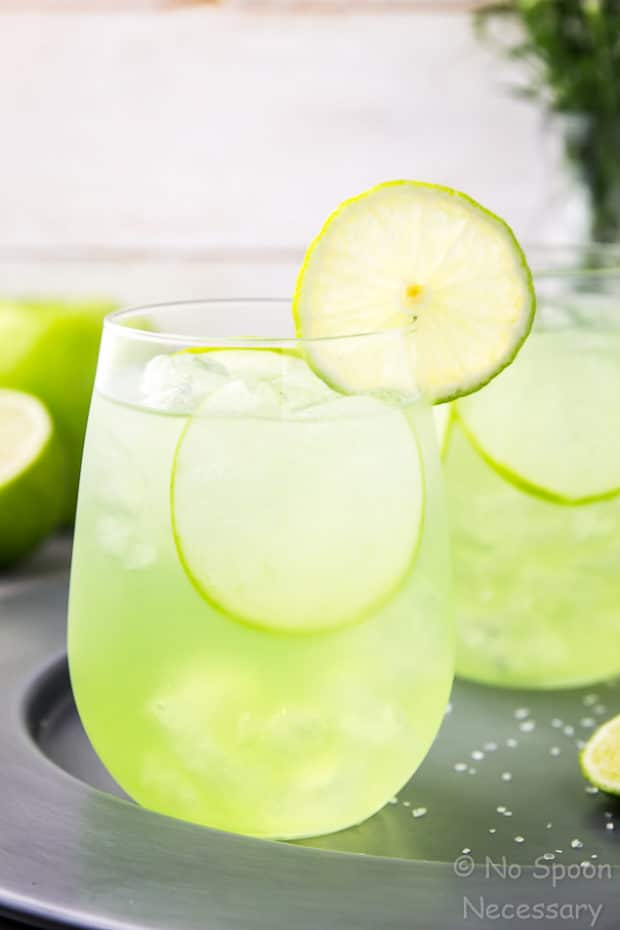 Sour apple tequila cocktail the lucky shamrock no for Green apple mixed drinks
