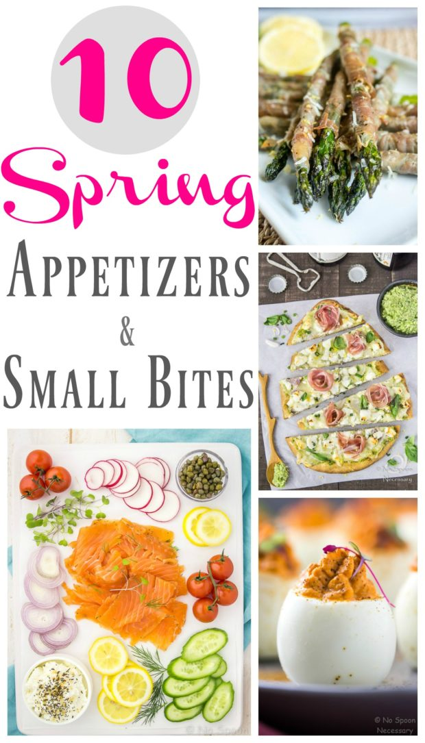 10 Spring Appetizers & Small Bites