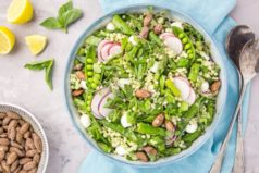 Glowing Green Spring Couscous Salad