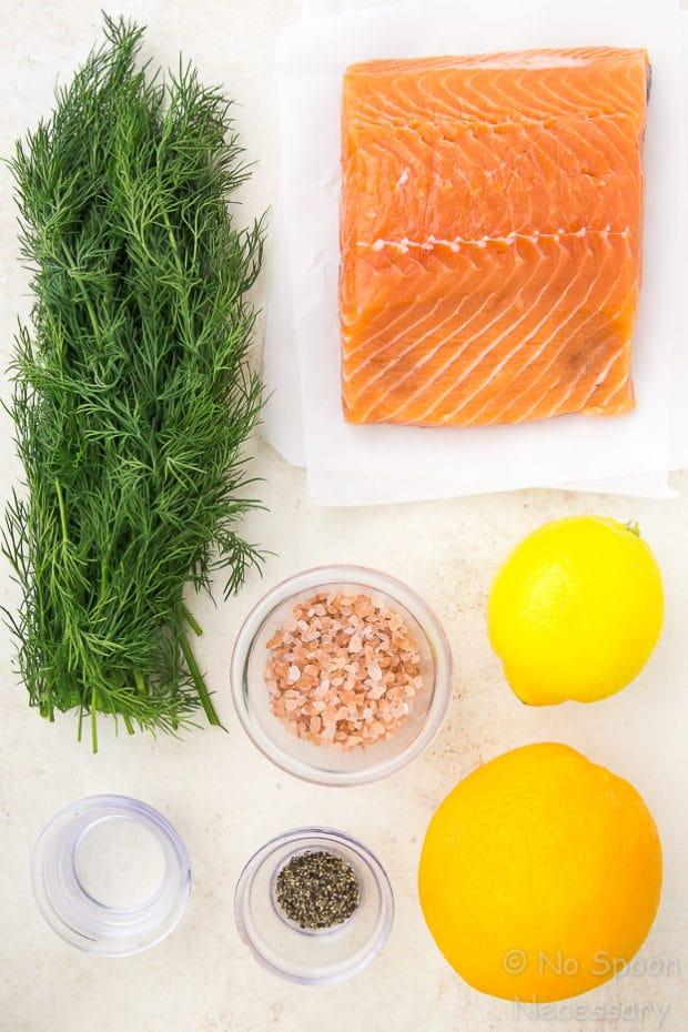 How To Make Gravlax - Vodka Dill Cured Salmon-