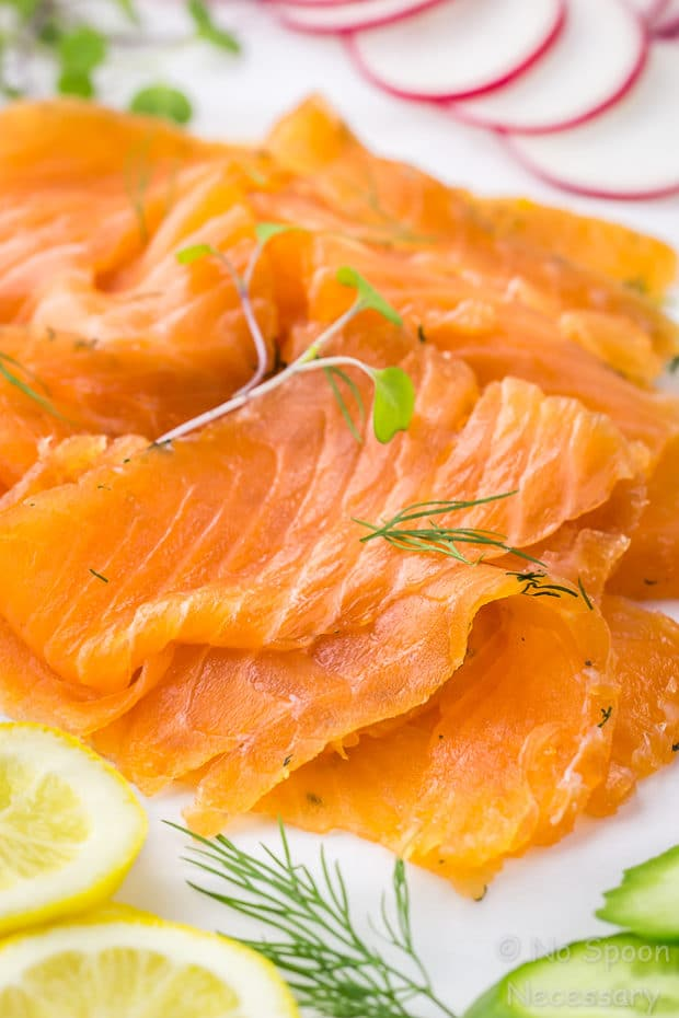 How To Make Gravlax - Vodka Dill Cured Salmon