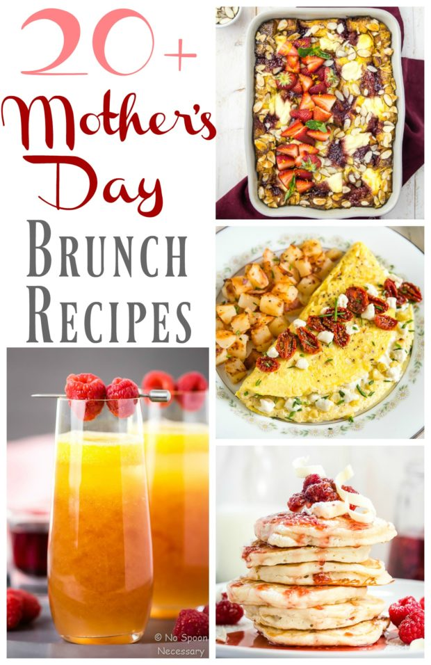Mothers Day Brunch Recipes No Spoon Necessary