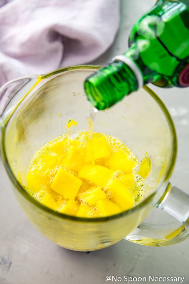 Strawberry Amp Mango Gin And Tonic Popsicles No Spoon