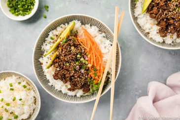 Stir-Fry Honey Hoisin Beef Bowl