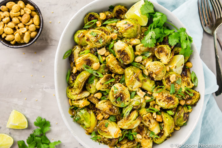 Roasted Asian Brussels Sprouts