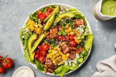 Summer Corn BLAT Salad recipe