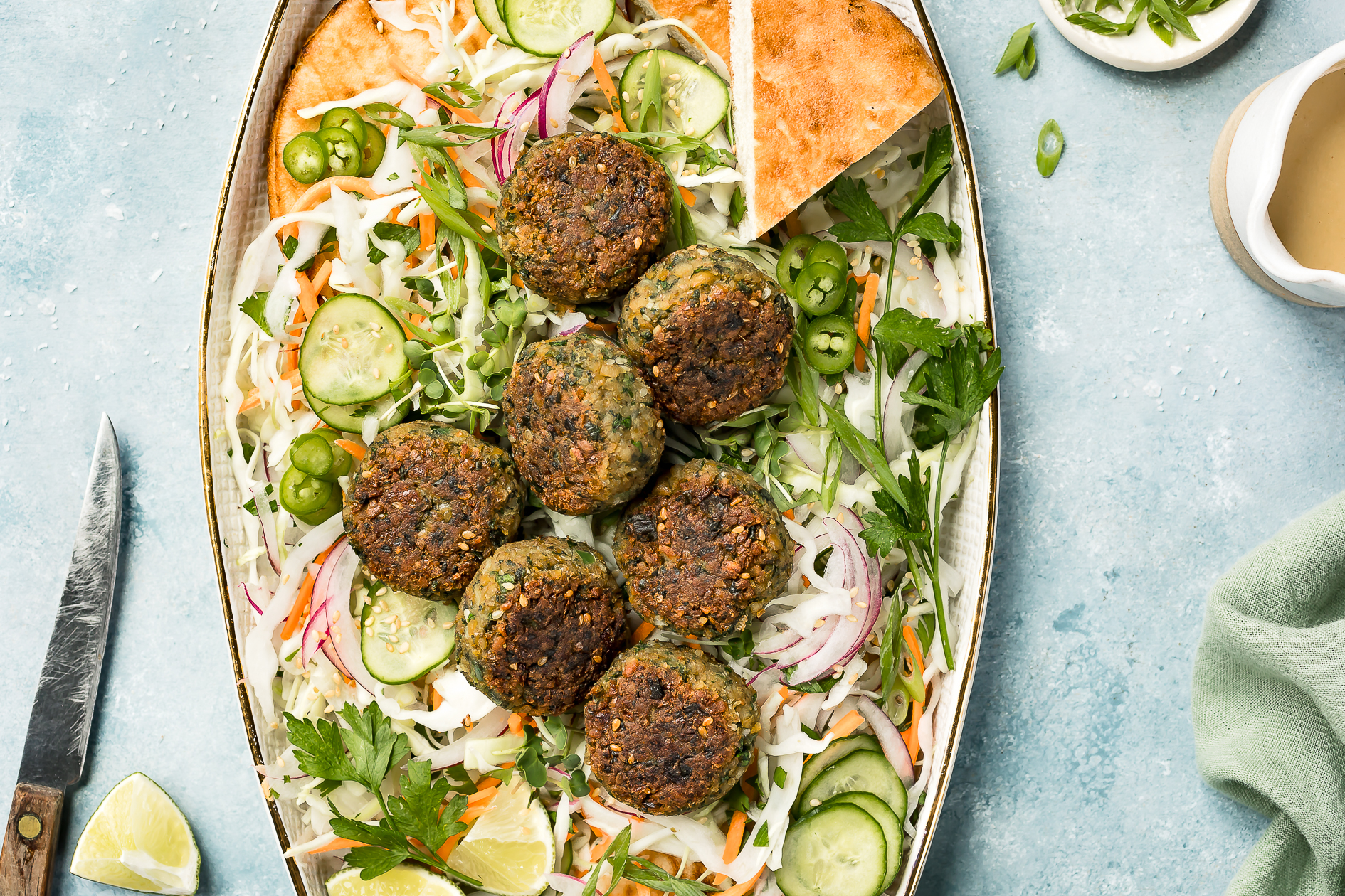 Easy Healthy Falafels recipe