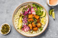 Easy White Fish Taco Bowls