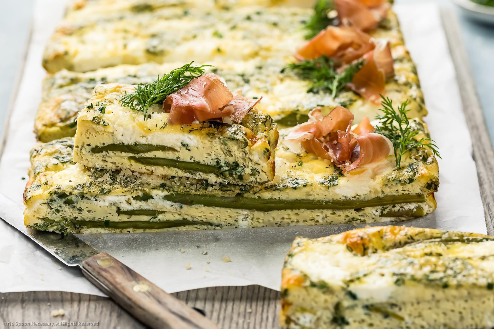 Asparagus Baked Frittata Recipe