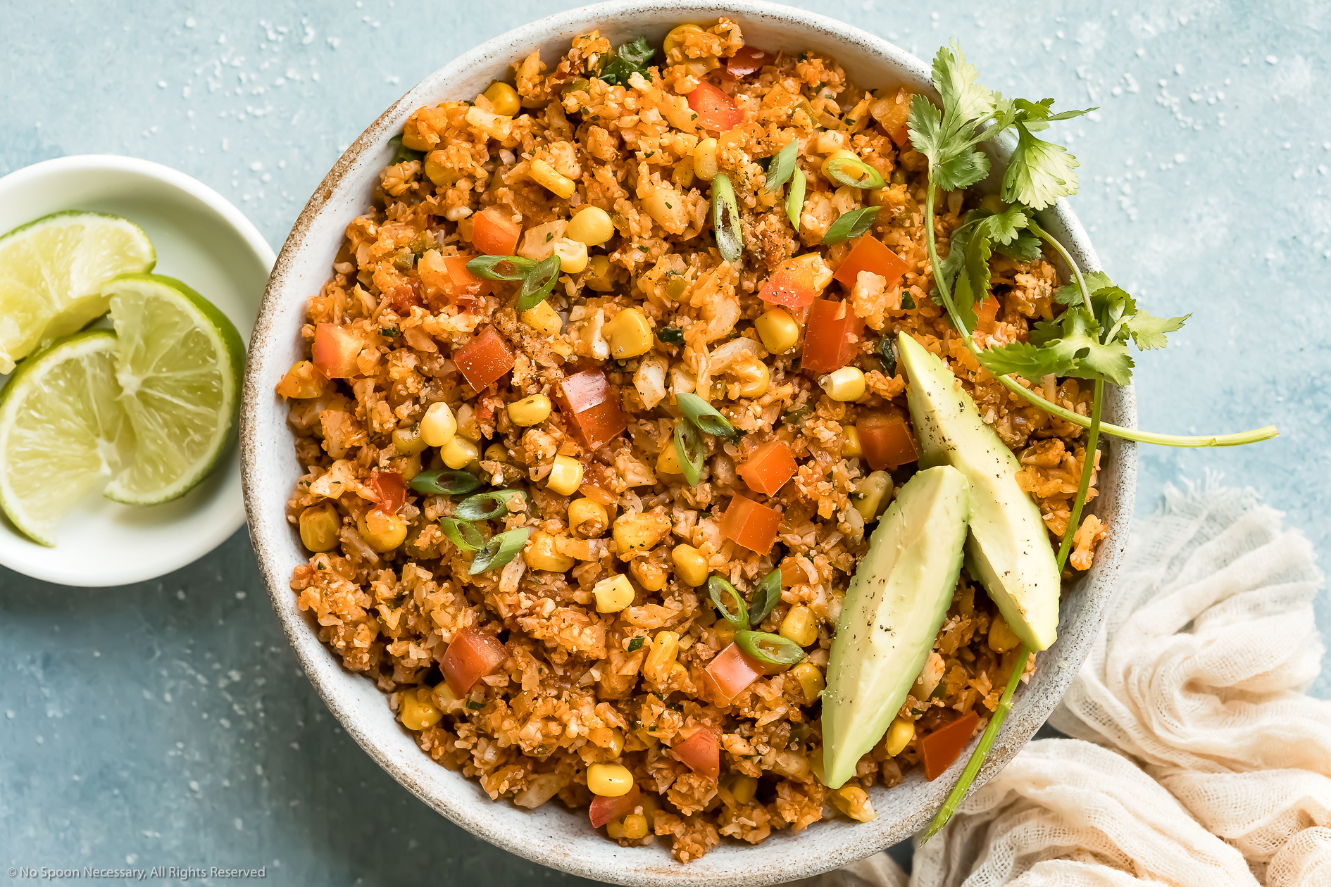 Mexican Cauliflower Rice (low-carb recipe!)