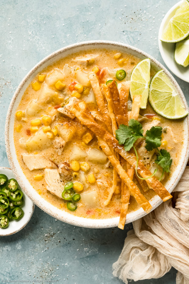 Easy Chicken Corn Chowder