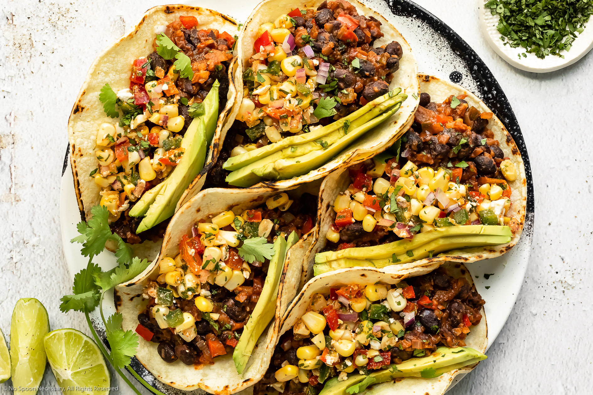 Easy Black Bean Tacos