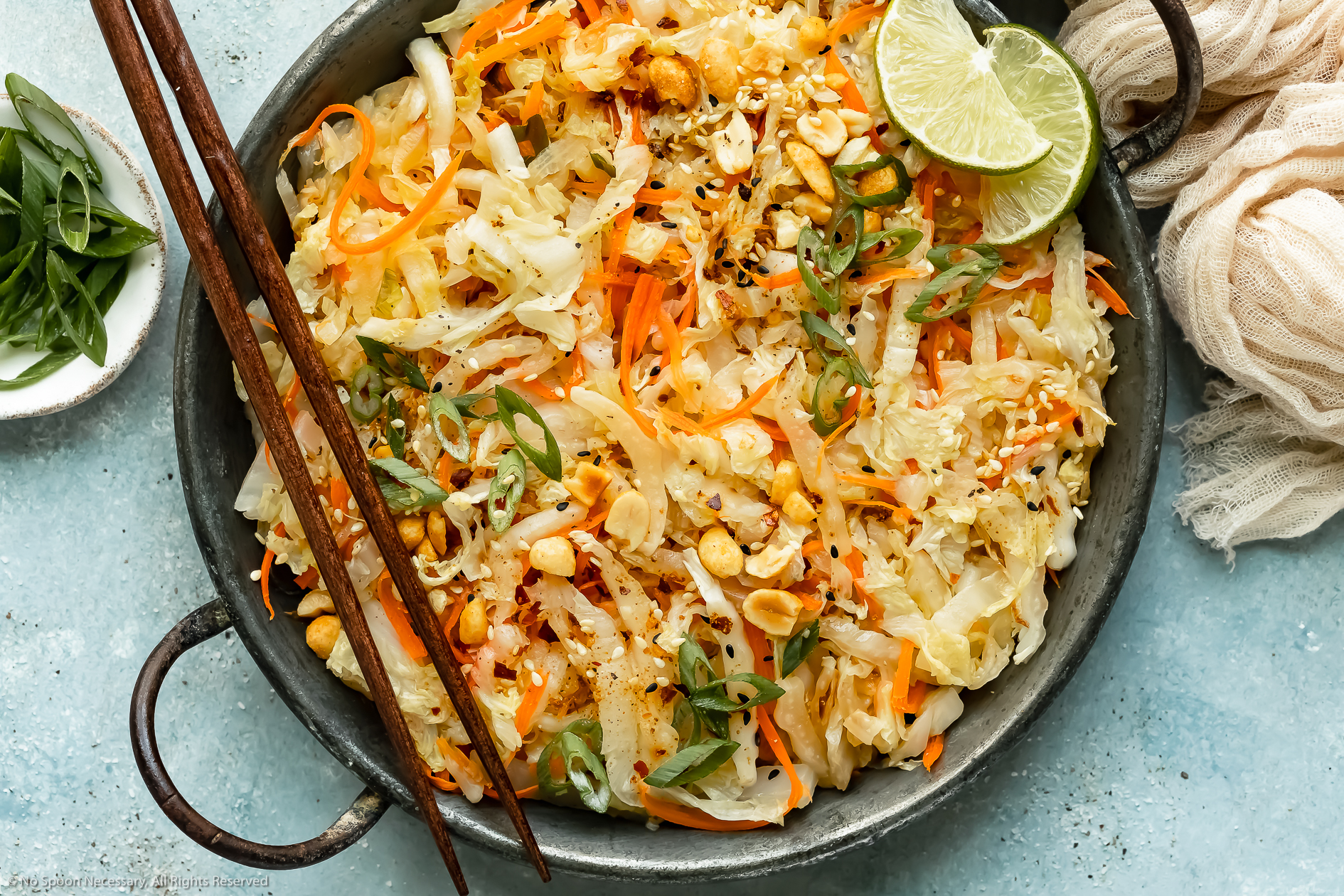 Stir Fried Cabbage Recipe No Spoon Necessary