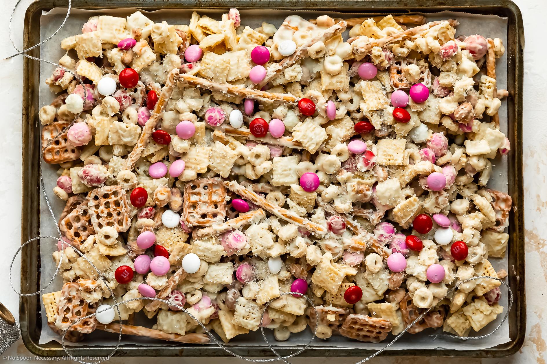 Sweet Chex Mix Recipe (White Trash Snack Mix)