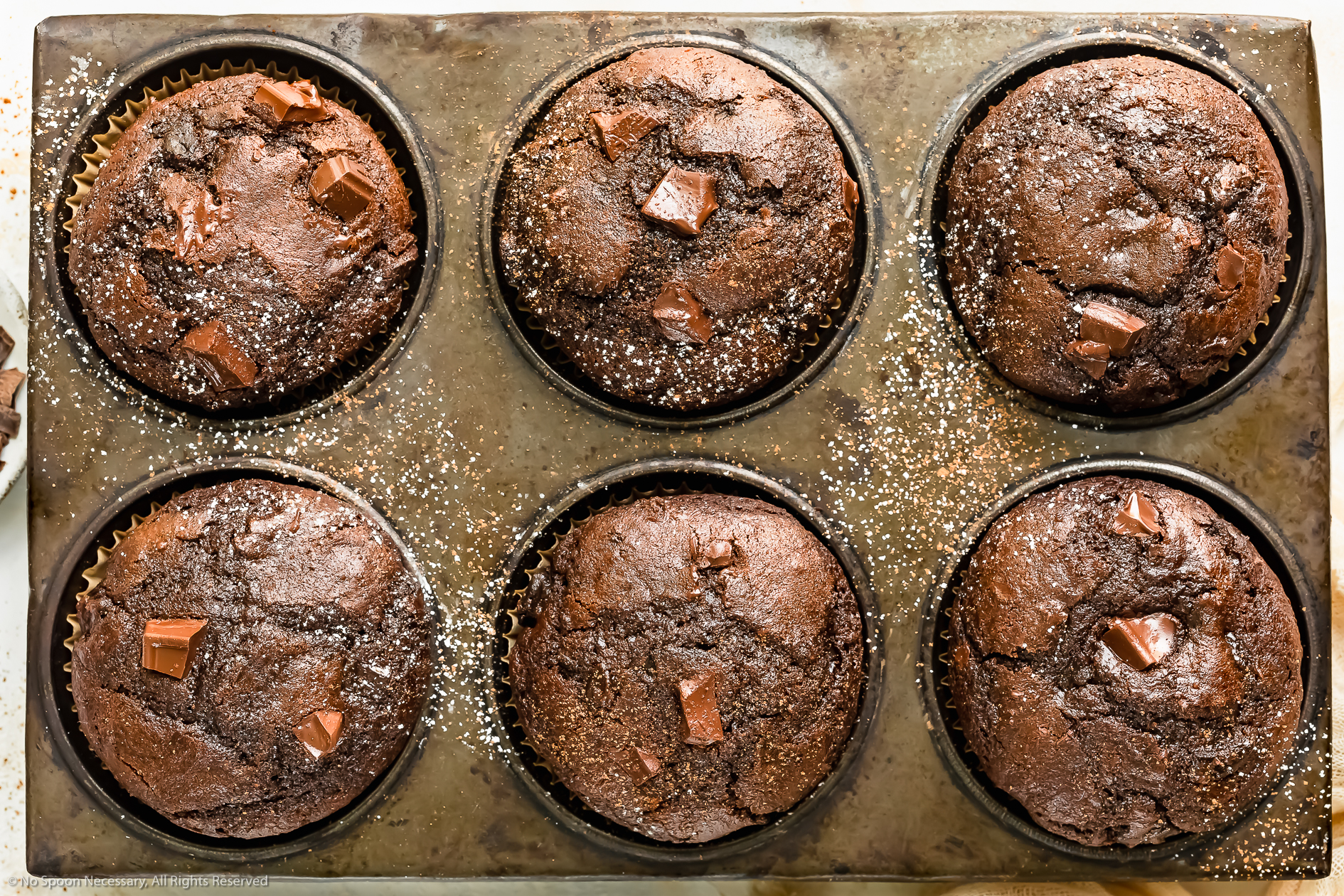 Double Chocolate Muffins (Easy Recipe!)