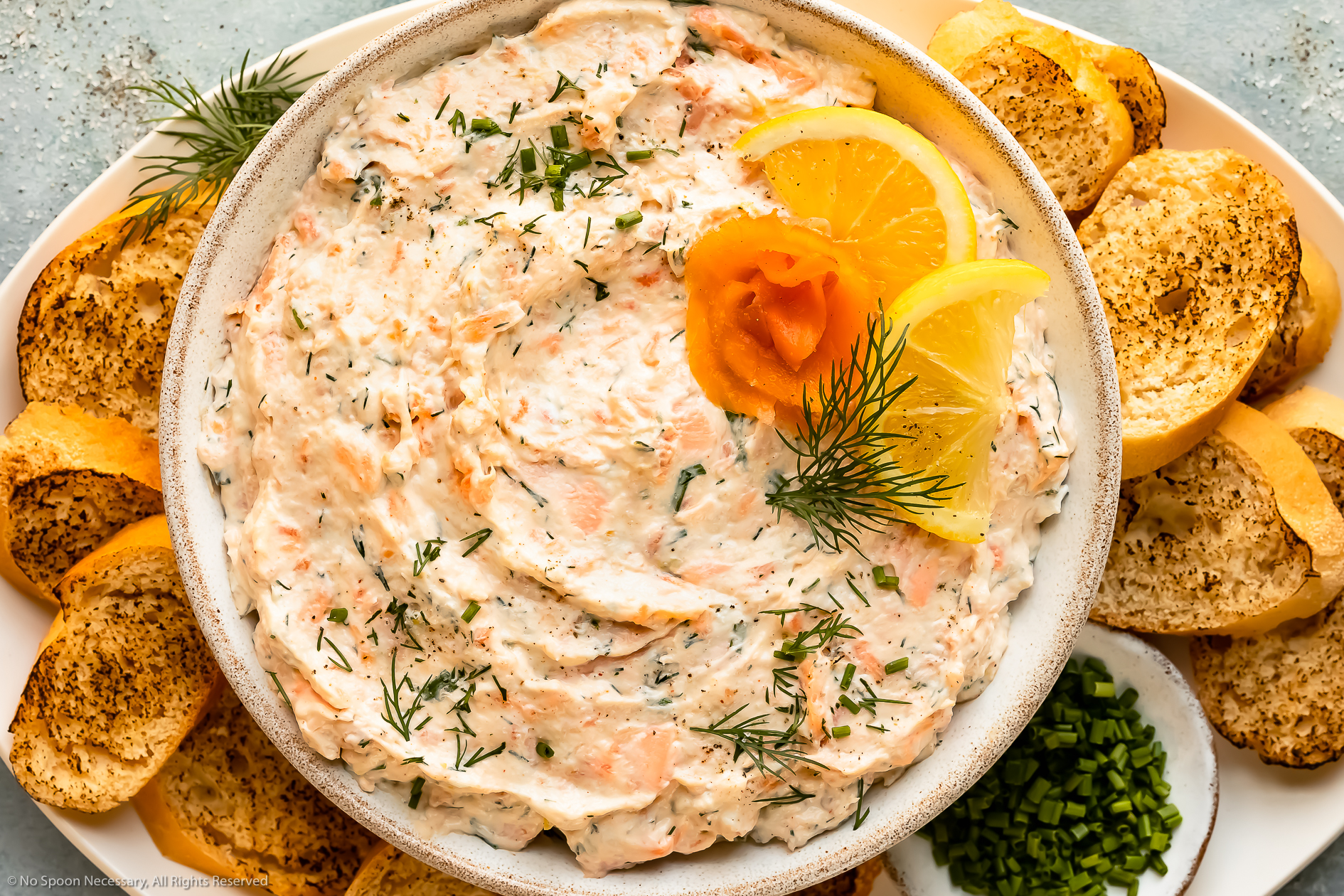 Easy Smoked Salmon Dip (healthy recipe!)