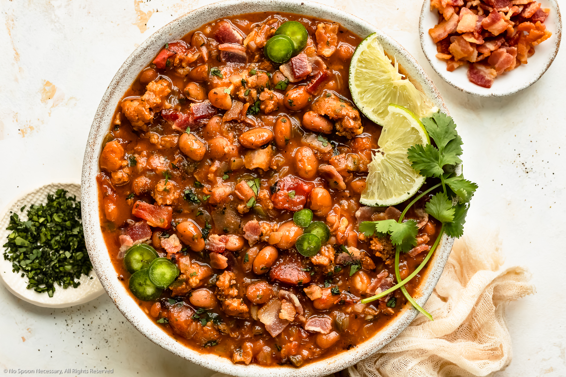 Easy Charro Beans (Mexican Pinto Beans)